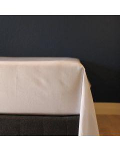 Glat lagen, 240x250 cm, Hvid, Bomuldssatin