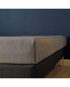 Glat lagen, 240x250 cm, Grå, Bomuld