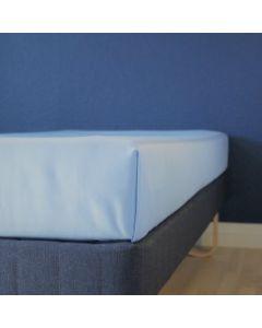 Glat lagen, 240x250 cm, Lys blå, Bomuld