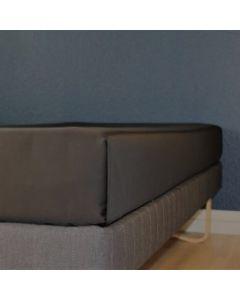 Glat lagen, 240x250 cm, Sort, Bomuld