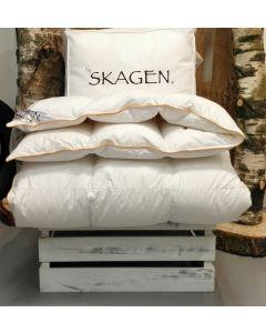Dyne: Krøyer, Moskusdun: 715 g. Bæreevne: 11, 140x220cm