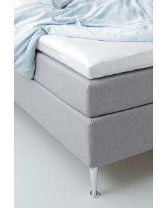 Bambus kuvertlagen 180×210 white cloud
