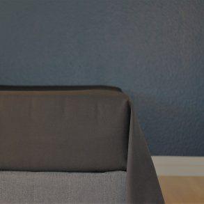 Glat lagen, 240x250 cm, Sort, Bomuldssatin